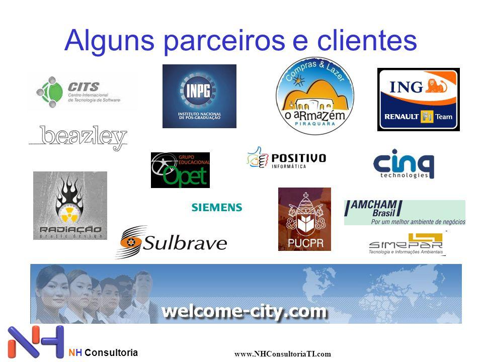 Alguns parceiros e clientes