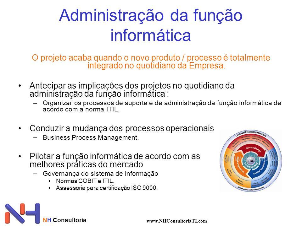 Administração da função informática