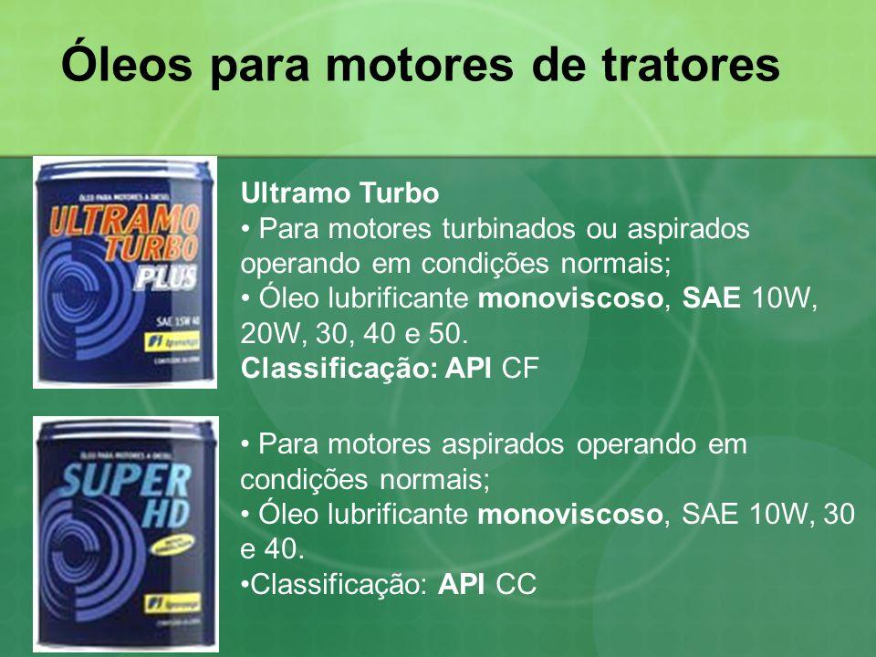 Óleos para motores de tratores