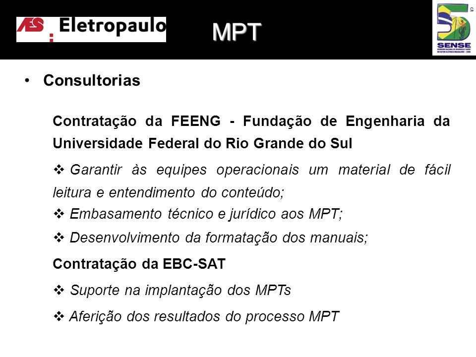 MPT Consultorias. Contratação da FEENG - Fundação de Engenharia da Universidade Federal do Rio Grande do Sul.