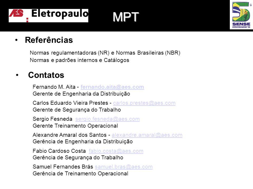 MPT Referências Contatos