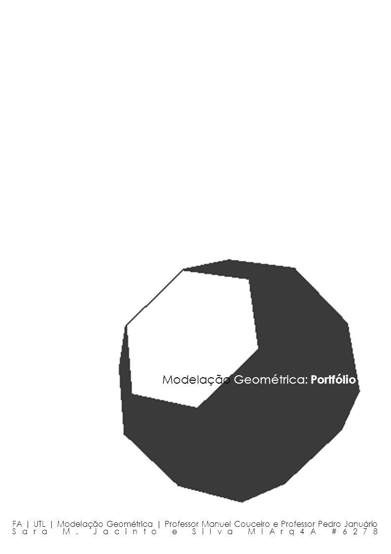 Modelação Geométrica: Portfólio