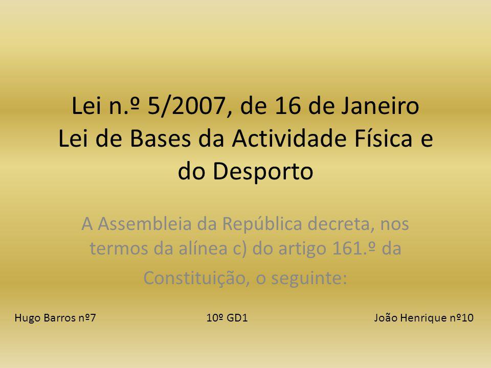 Constituição, o seguinte: