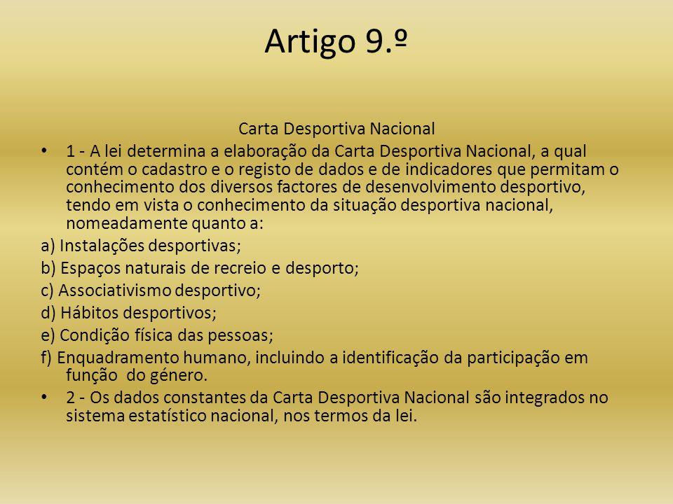 Carta Desportiva Nacional