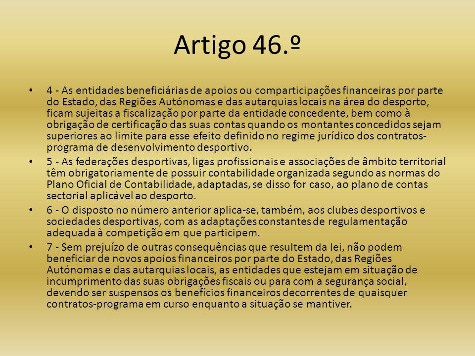 Artigo 46.º