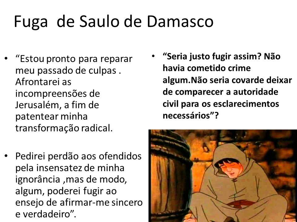 Fuga de Saulo de Damasco