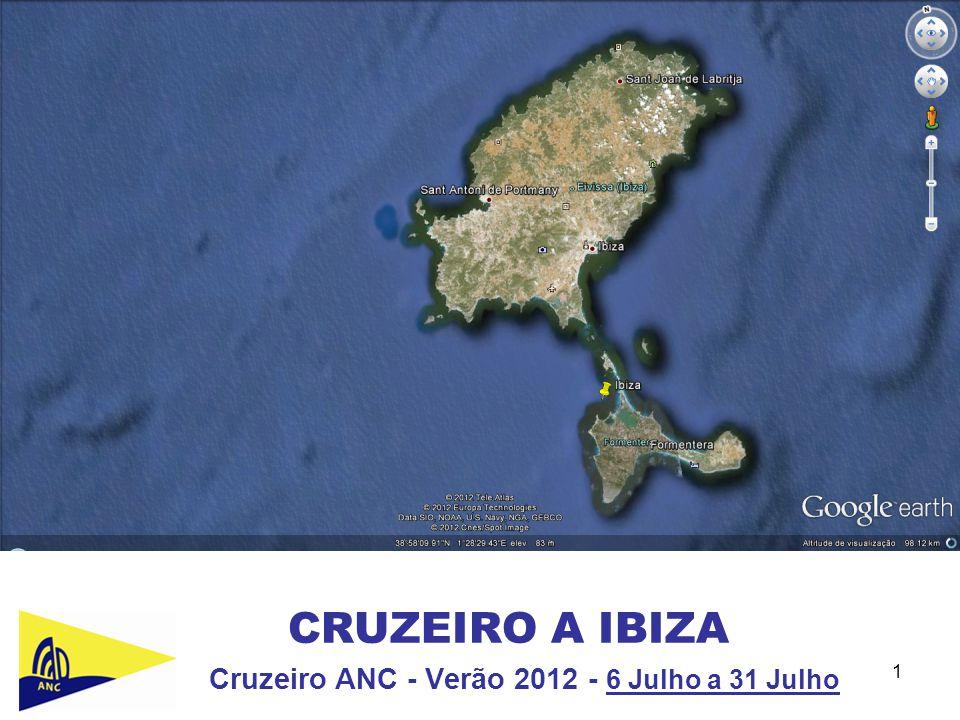 Cruzeiro ANC - Verão 2012 - 6 Julho a 31 Julho