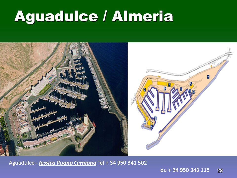 Aguadulce / Almeria Aguadulce - Jessica Ruano Carmona Tel + 34 950 341 502 ou + 34 950 343 115
