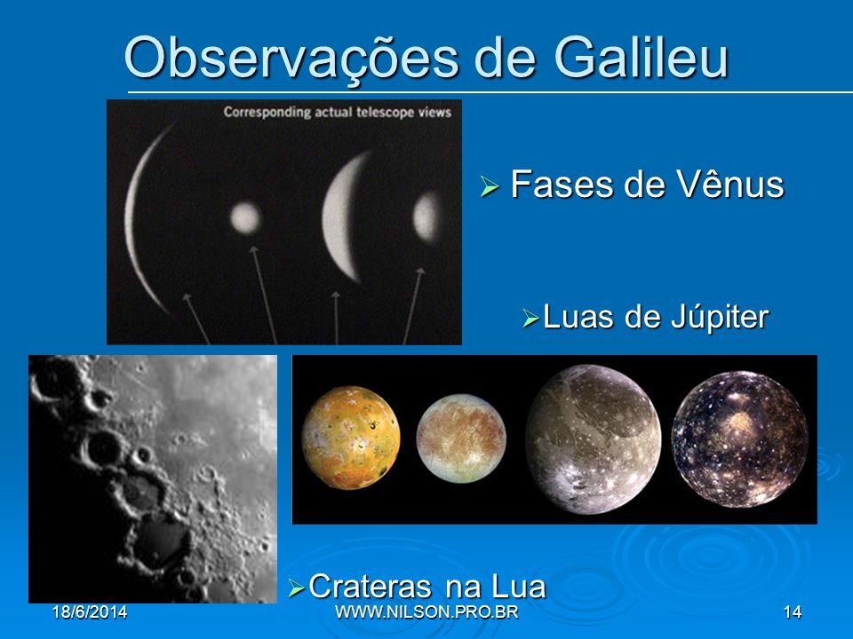 Observações de Galileu