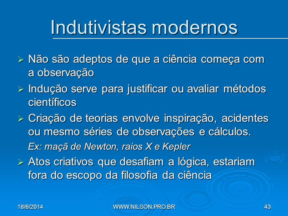 Indutivistas modernos