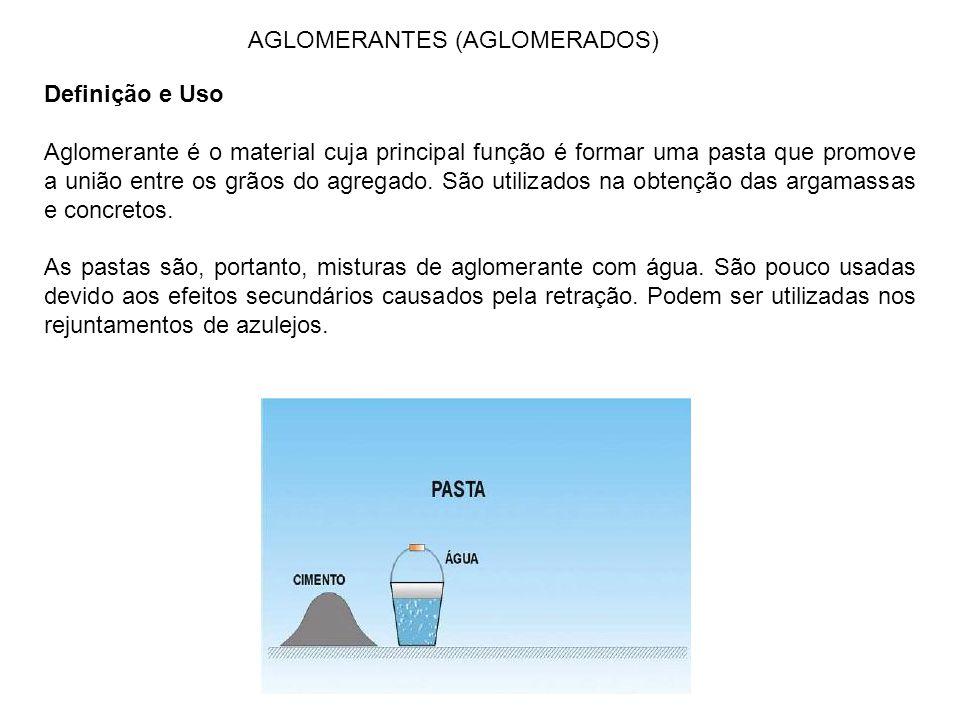 AGLOMERANTES (AGLOMERADOS)