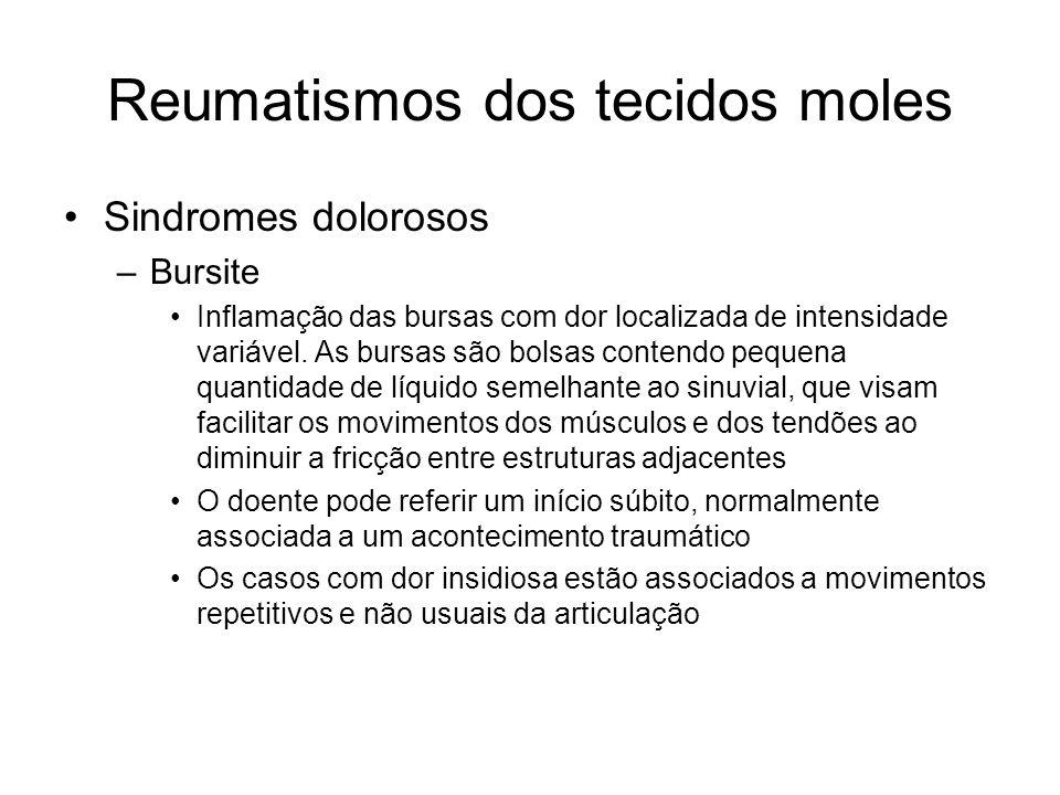 Reumatismos dos tecidos moles
