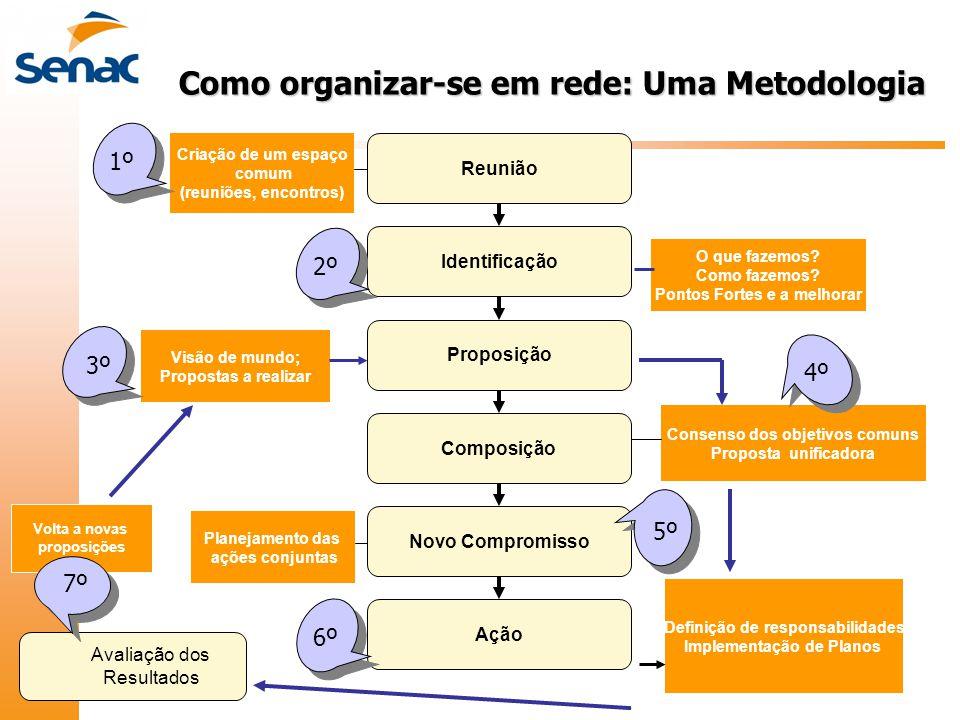 Como organizar-se em rede: Uma Metodologia