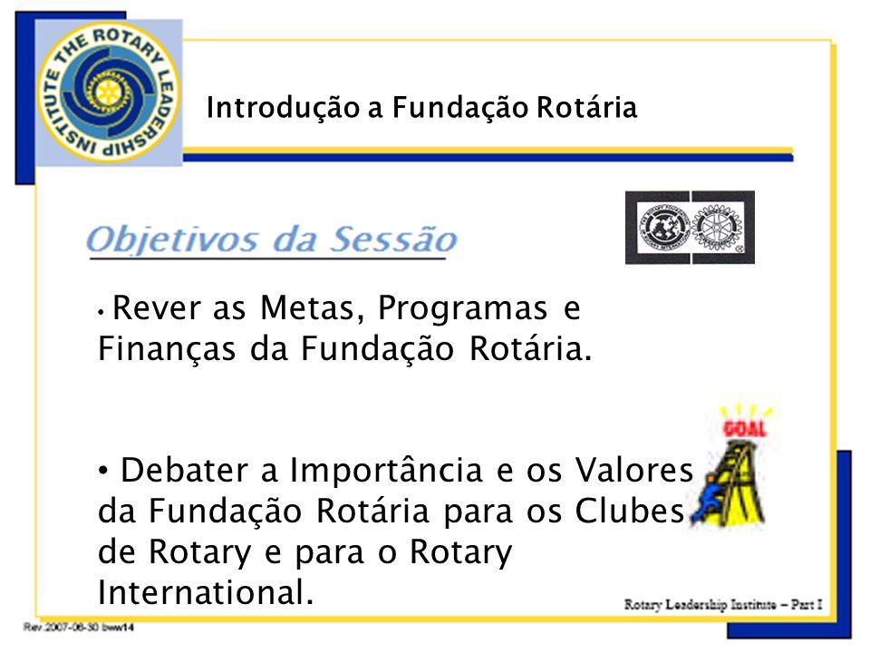 Introdução a Fundação Rotária