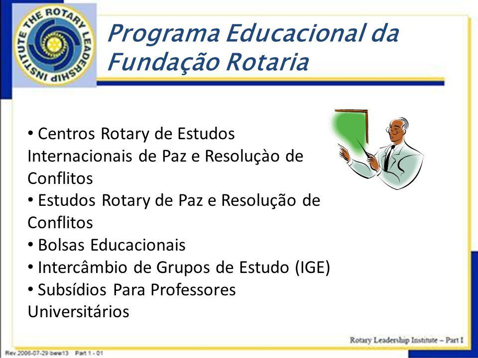 Programa Educacional da Fundação Rotaria