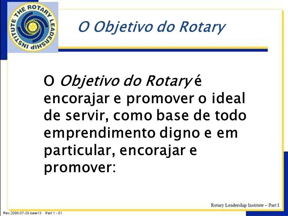 O Objetivo do Rotary