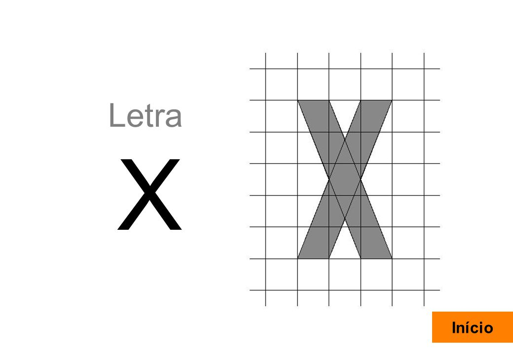 Letra X Início Rui Carrasquinho