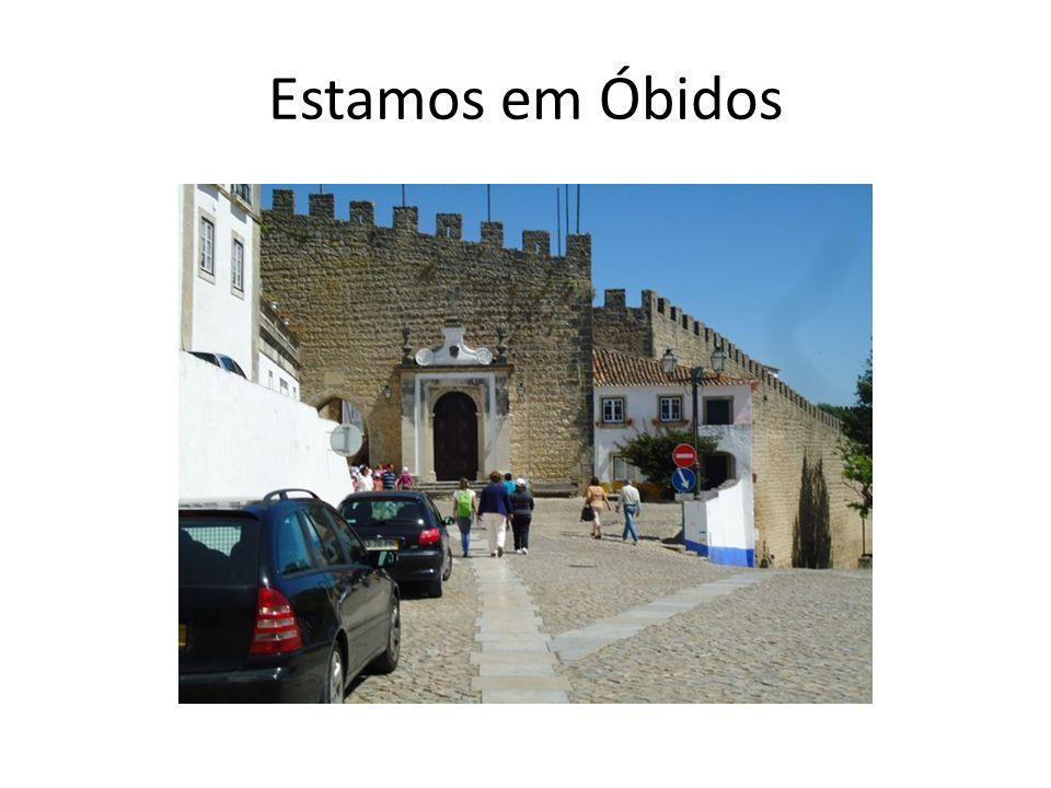 Estamos em Óbidos