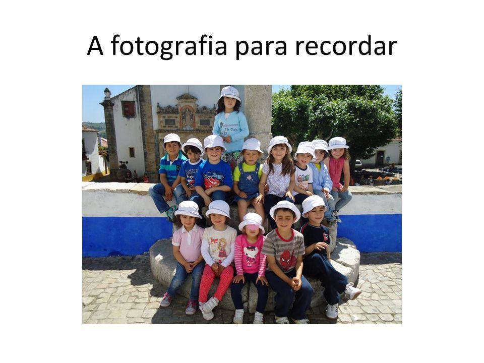 A fotografia para recordar