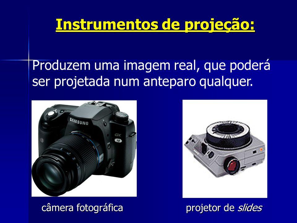 Instrumentos de projeção: