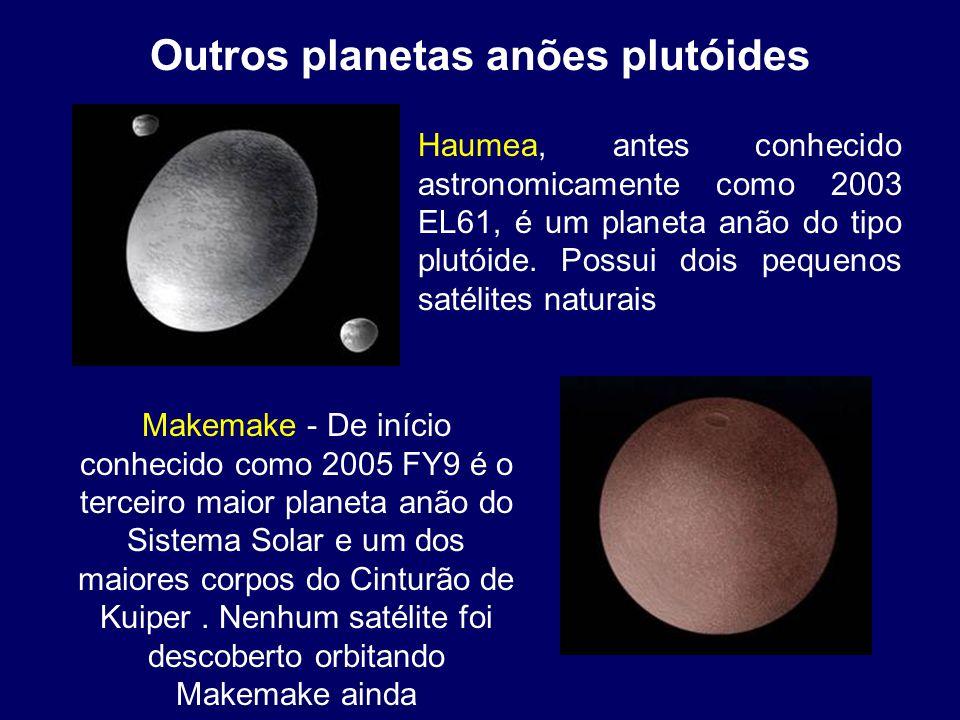 Outros planetas anões plutóides
