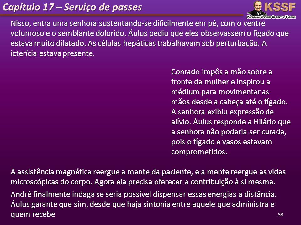 Capítulo 17 – Serviço de passes