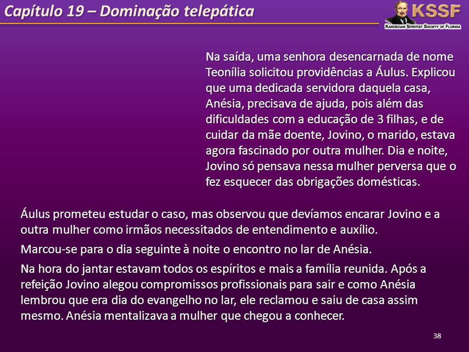 Capítulo 19 – Dominação telepática