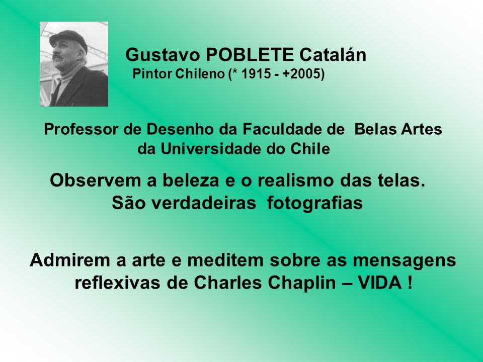 Gustavo POBLETE Catalán