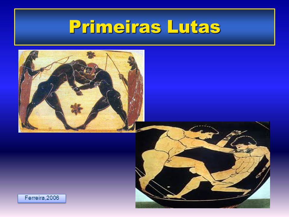 Primeiras Lutas Ferreira,2006