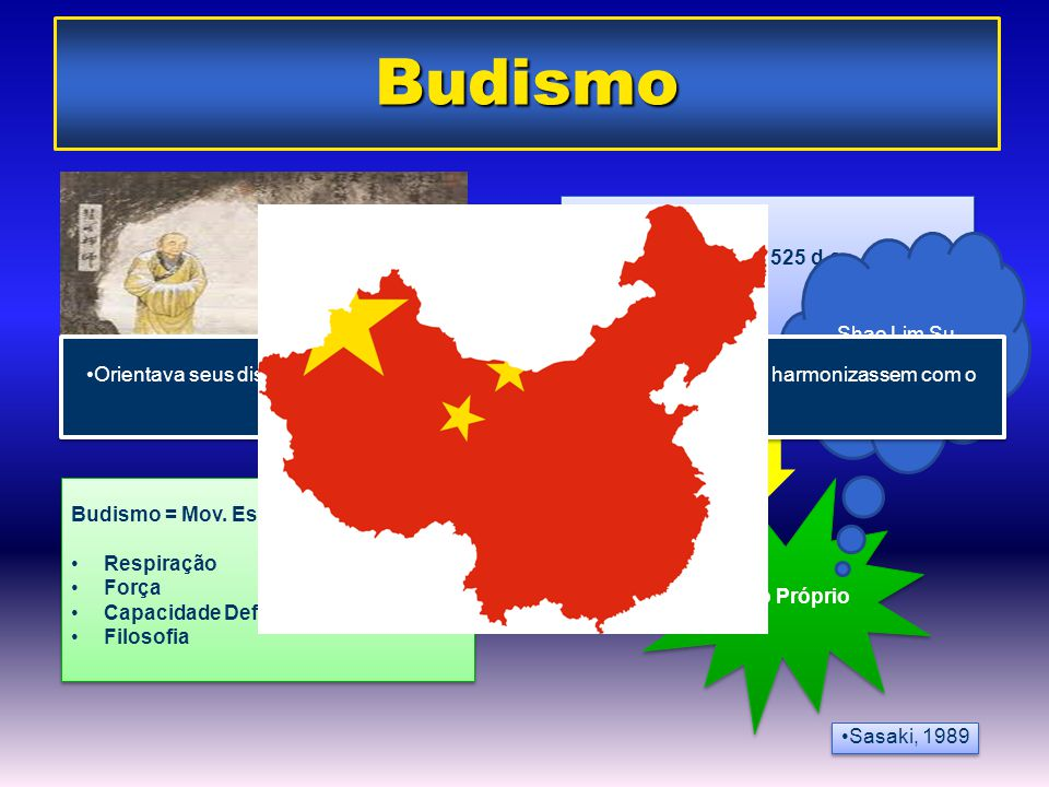 Budismo Viagem A China ano 525 d.c Shao Lim Su Kempo