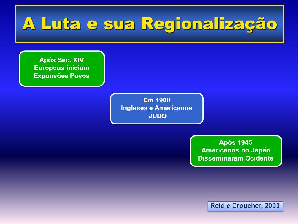 A Luta e sua Regionalização