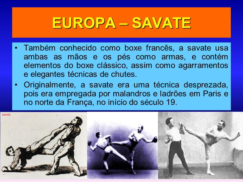 EUROPA – SAVATE