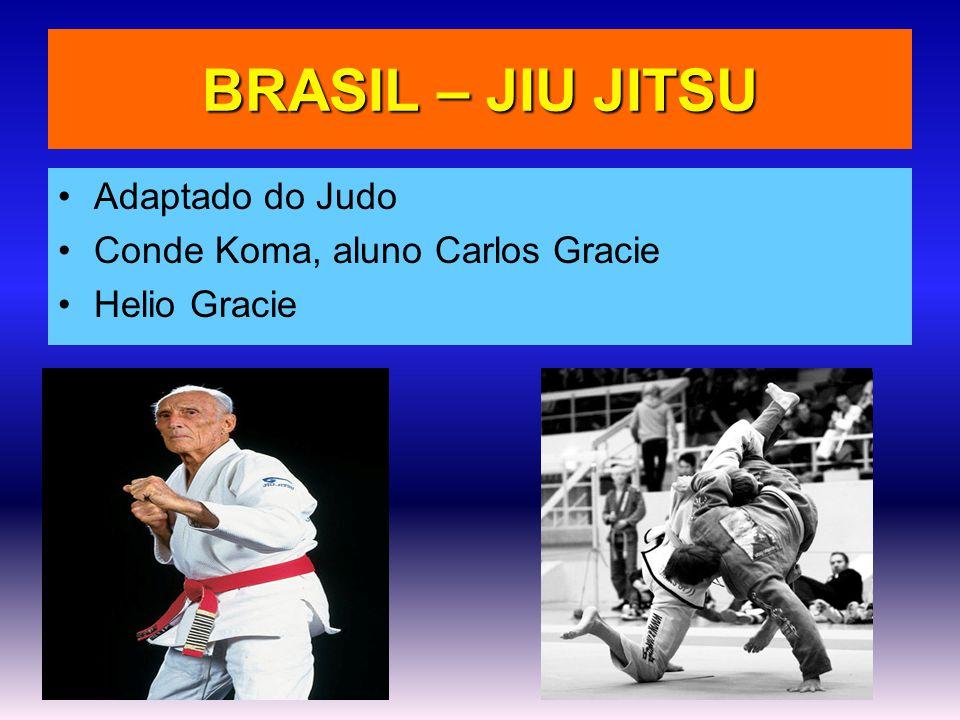 BRASIL – JIU JITSU Adaptado do Judo Conde Koma, aluno Carlos Gracie