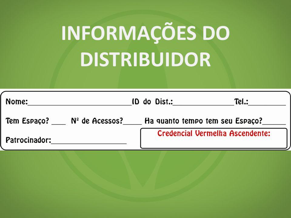 INFORMAÇÕES DO DISTRIBUIDOR