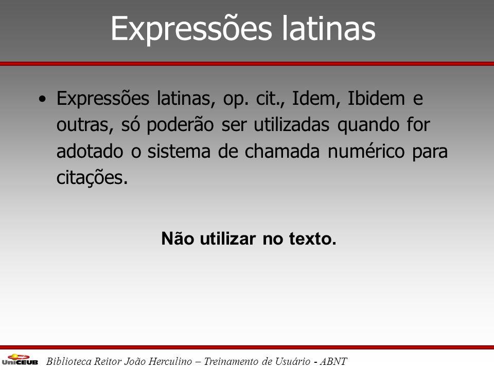 Expressões latinas
