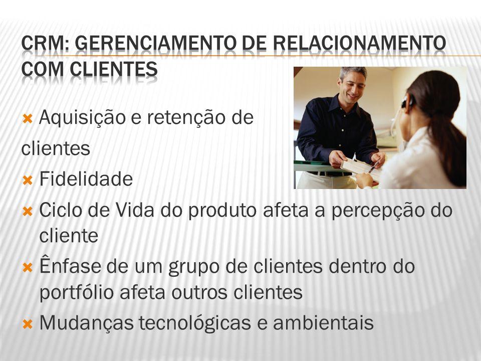 CRM: Gerenciamento de Relacionamento com Clientes