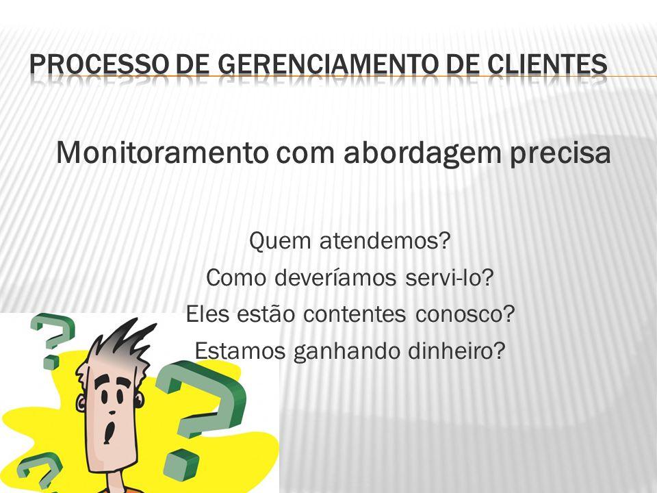 Processo de gerenciamento de clientes
