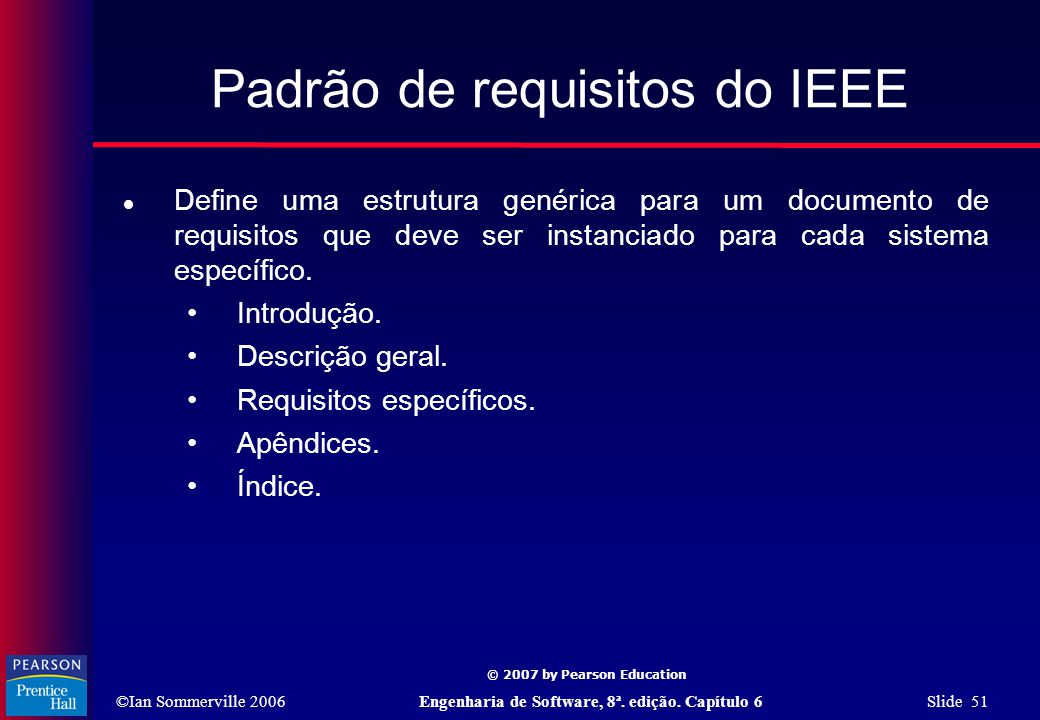 Padrão de requisitos do IEEE