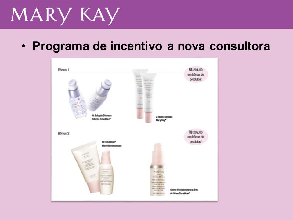 Programa de incentivo a nova consultora