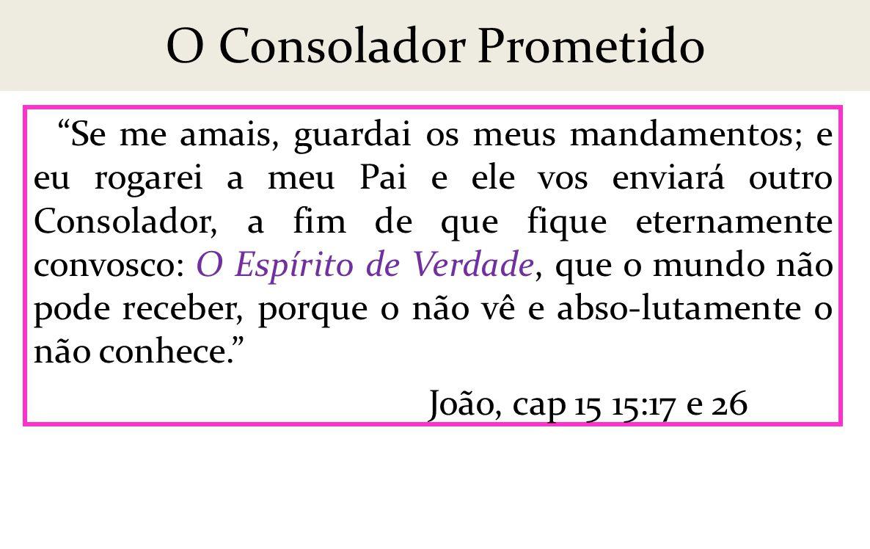 O Consolador Prometido