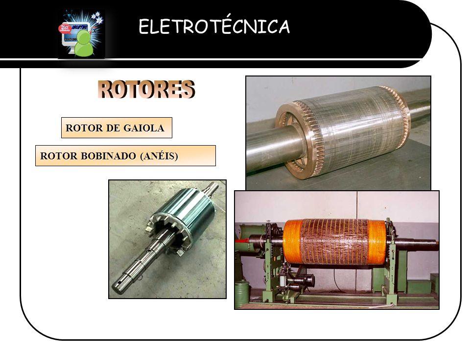 ROTORES ROTOR DE GAIOLA ROTOR BOBINADO (ANÉIS)