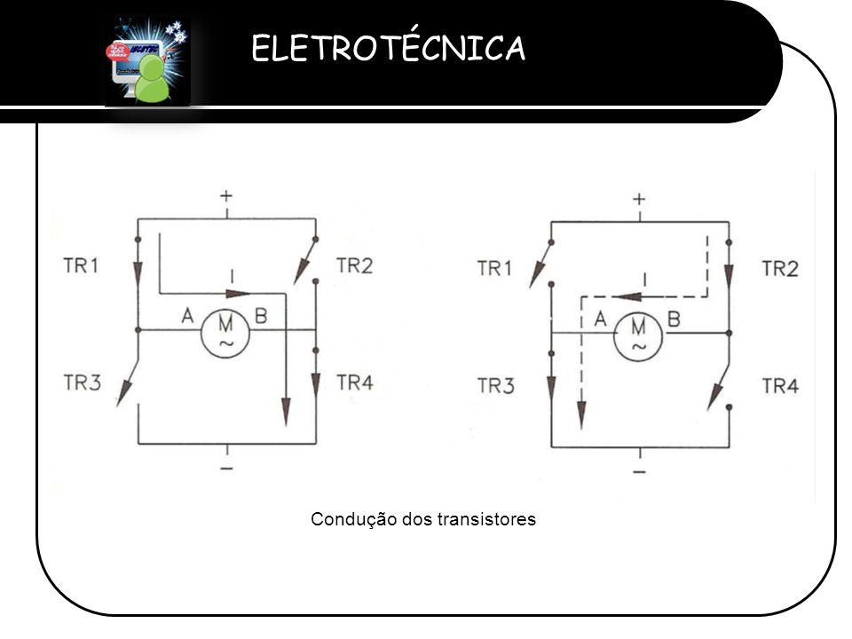 Condução dos transistores