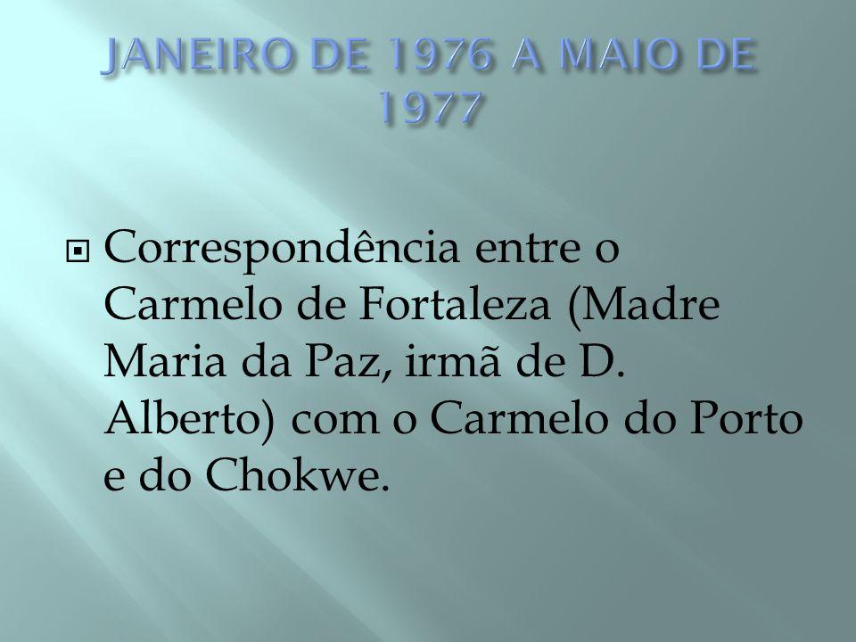 JANEIRO DE 1976 A MAIO DE 1977