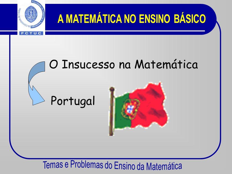 A MATEMÁTICA NO ENSINO BÁSICO