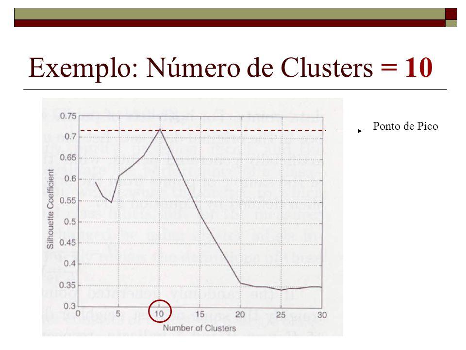 Exemplo: Número de Clusters = 10