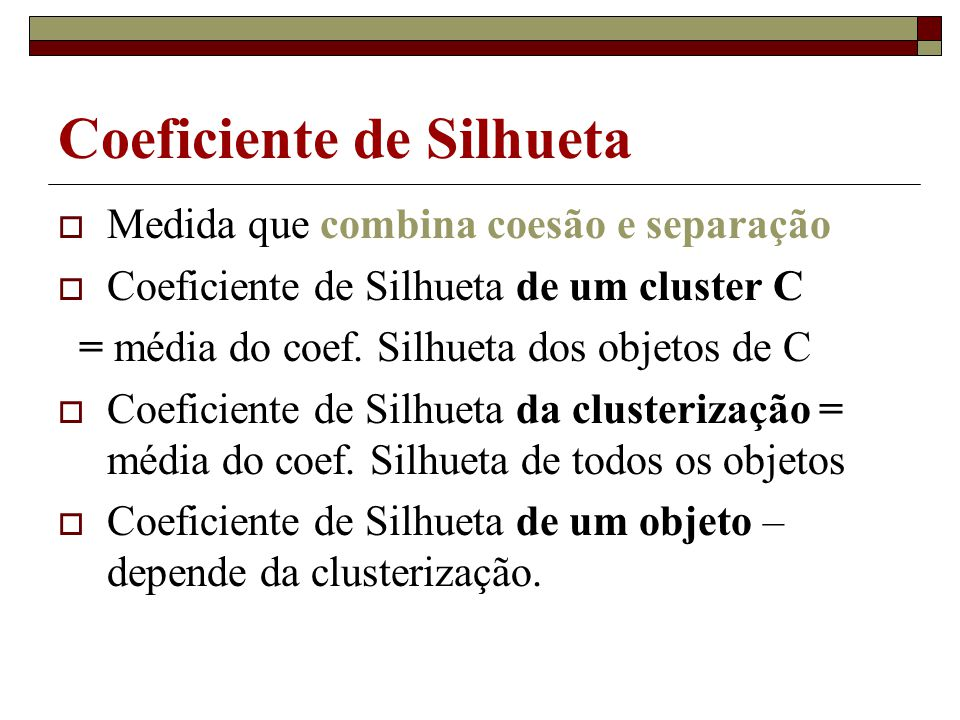Coeficiente de Silhueta