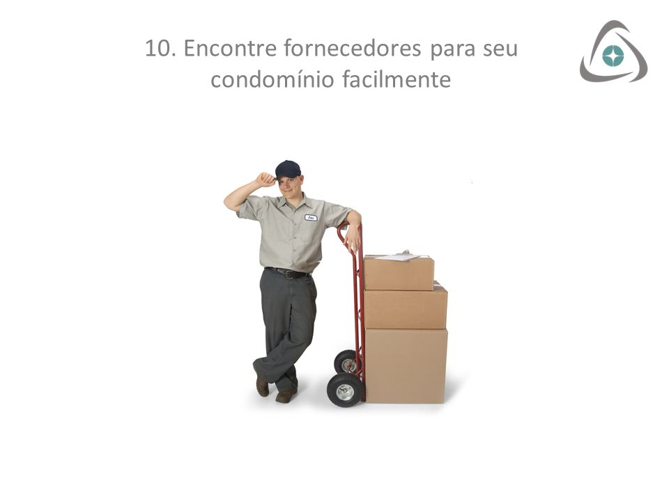 10. Encontre fornecedores para seu condomínio facilmente
