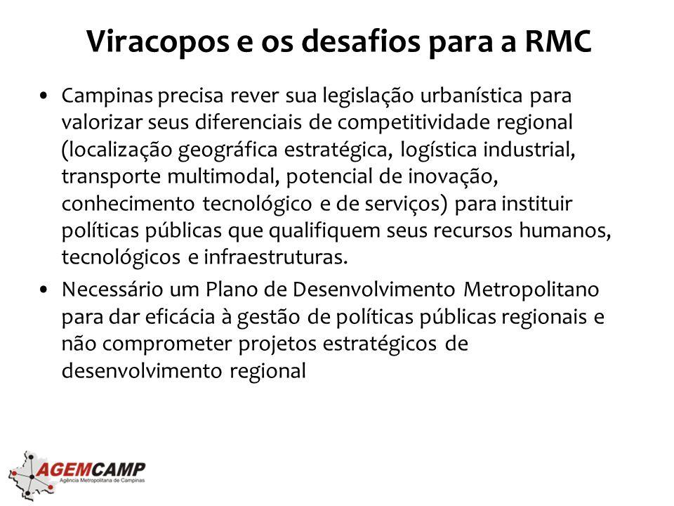 Viracopos e os desafios para a RMC