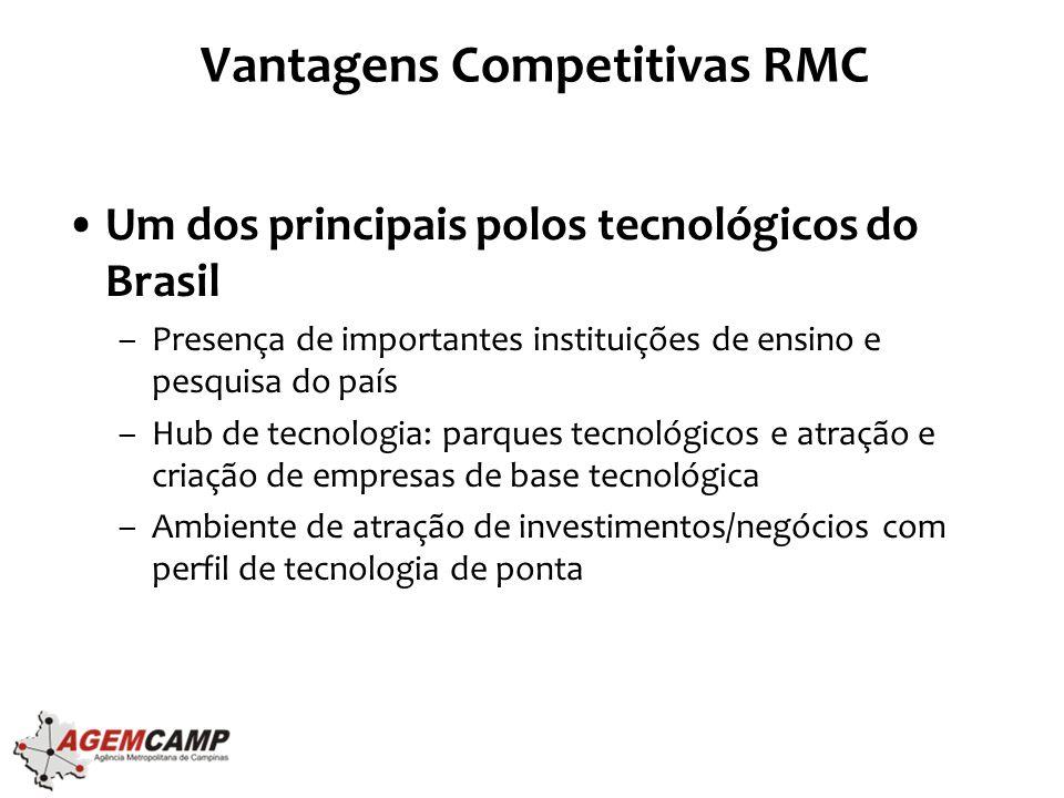 Vantagens Competitivas RMC