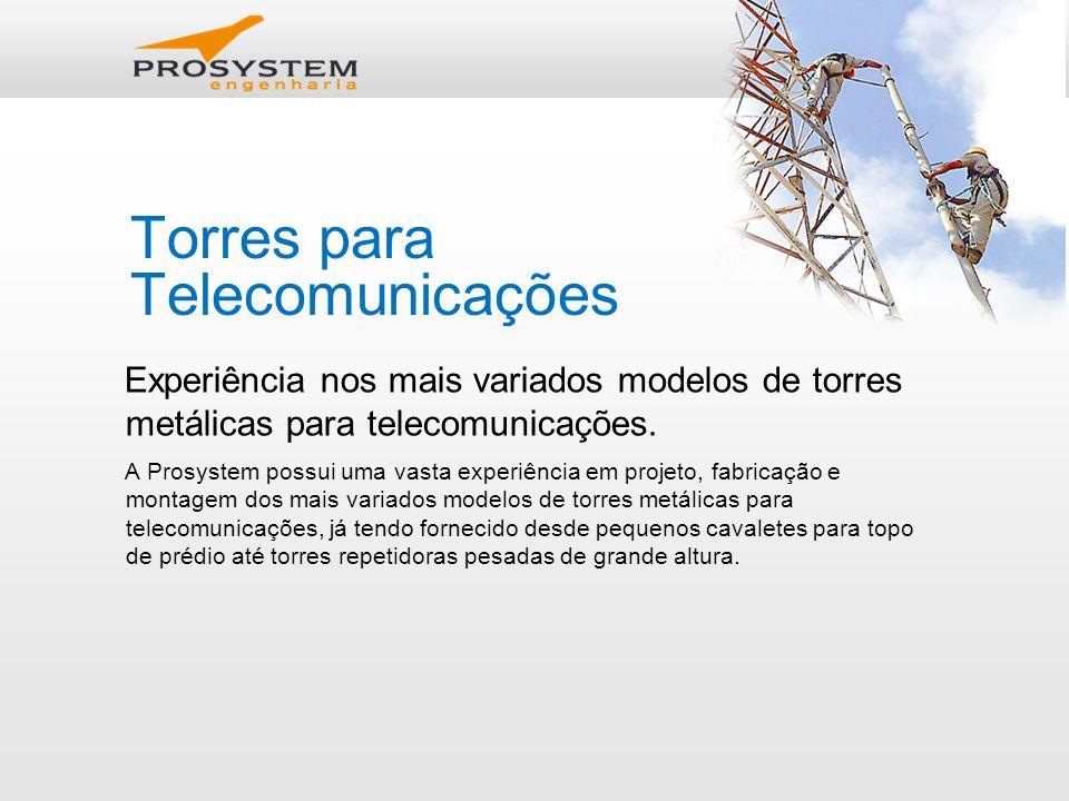 Torres para Telecomunicações